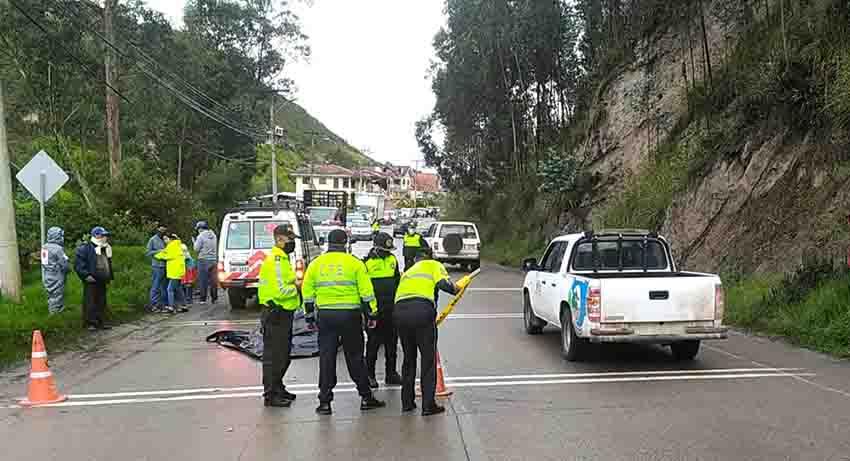 Mujer muere atropellada en la Panamericana Sur