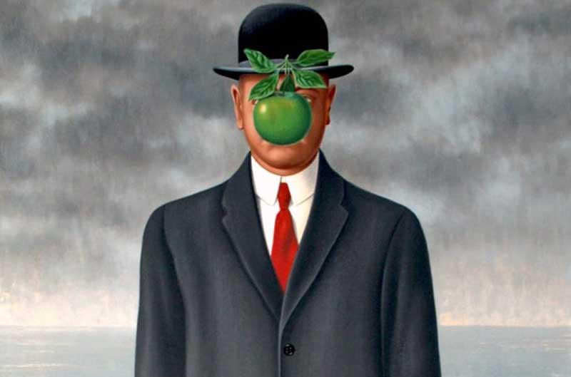 René Magritte - El hijo del hombre