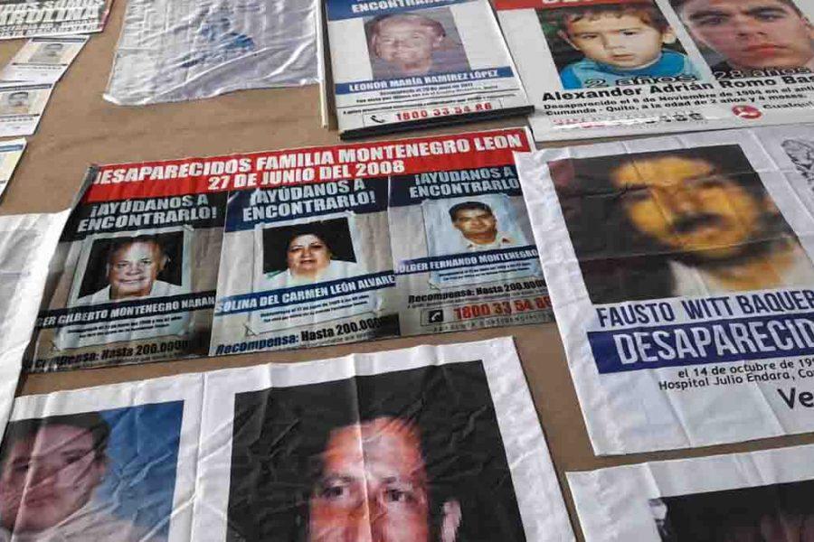Los tres familiares de Mariela Montenegro engrosan la lista de personas desaparecidas en Ecuador.