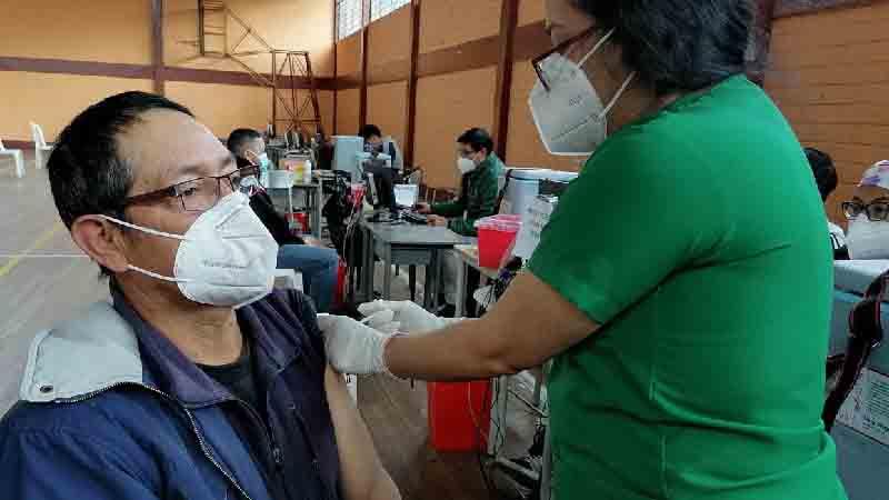 Proceso de vacunación en el país.