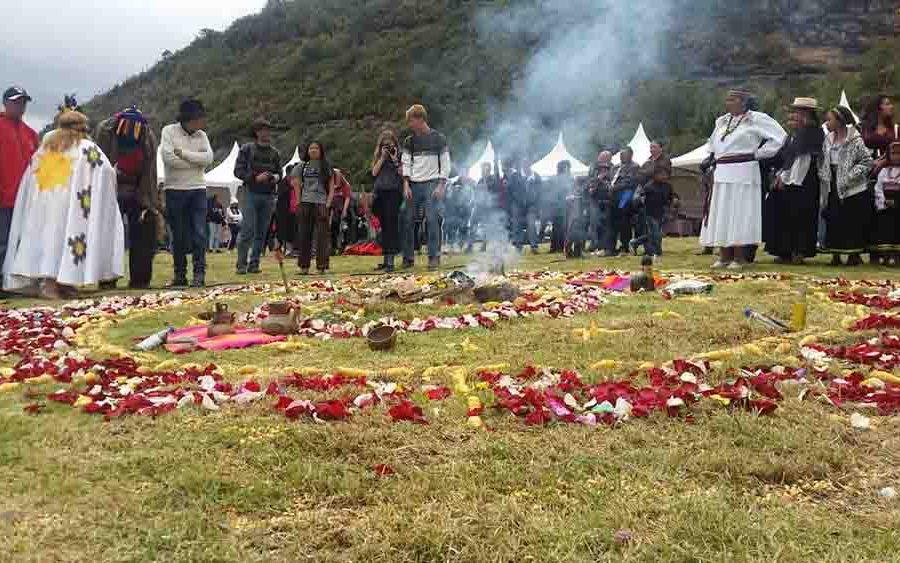 La Fiesta del Maíz se celebra en el Complejo Arqueológico de Cojitambo.