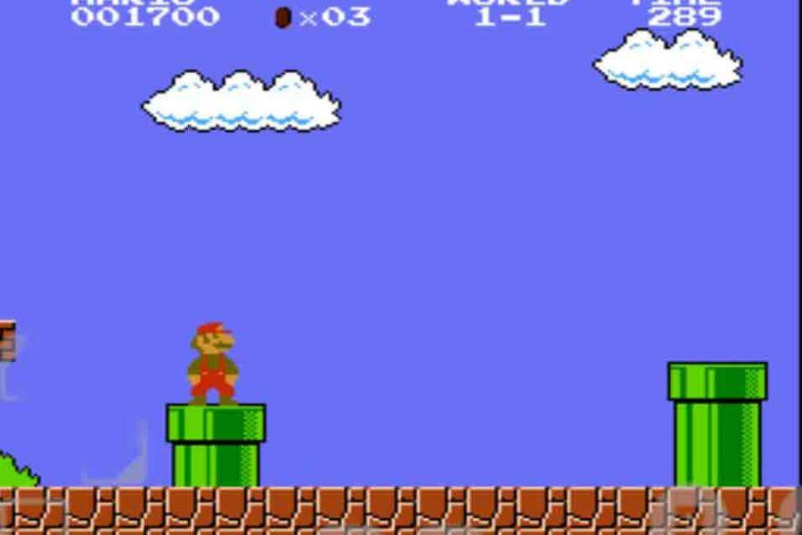 Captura del videojuego clásico 'Mario Bros.'